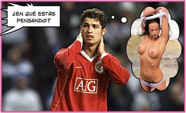 A Cristiano Ronaldo le falla la puntería