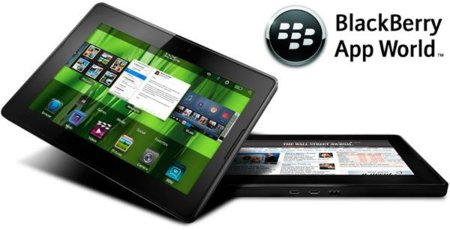 BlackBerry App World ya acepta aplicaciones para BlackBerry PlayBook