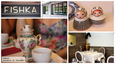Restaurante Fishka, cocina rusa de mercado en Madrid