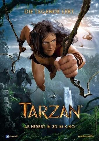 'Tarzán', cartel y primer tráiler