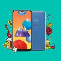Samsung Galaxy M01s: el más básico de la serie gana el lector de huellas y una pantalla más grande