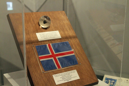 Apollo 17 Lunar Sample Display Iceland