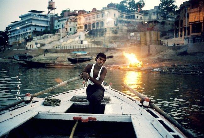 India-Varanasi-Ganges