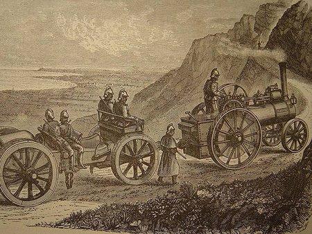 Locomóvil, el automóvil accionado por vapor
