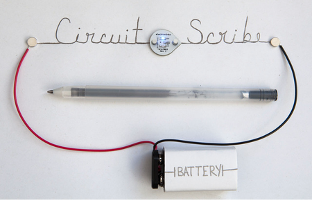Circuit Scribe, la apuesta por dibujar circuitos en papel con una tinta conductora