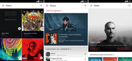 Apple Music para Android deja de ser una versión beta, descarga ya su primera versión estable