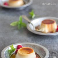 Flan de mascarpone sin horno y un hojaldre ligero de gorgonzola y calabacín en la quincena gourmet de Trendencias Lifestyle (LII)
