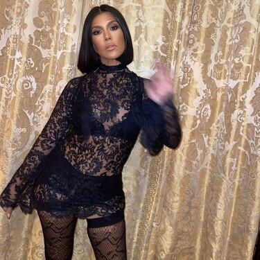 Kourtney Kardashian homenajea a Britney Spears al lucir el icónico vestido lencero de Dolce & Gabanna del 2001