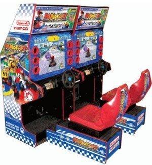 Mario Kart Arcade GP: la recreativa