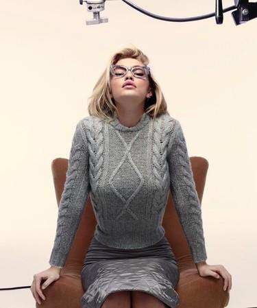 Gigi Hadid, la Marilyn Monroe de la nueva campaña de Max Mara