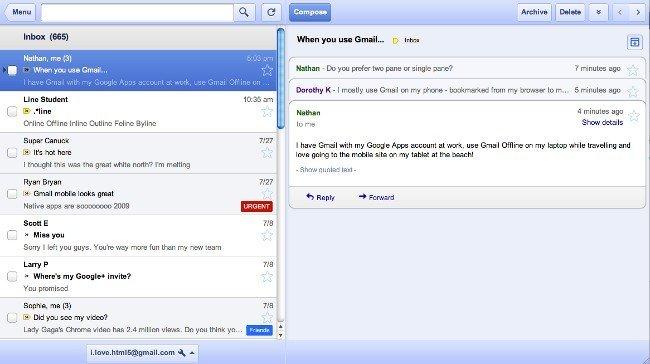 Google permite usar Gmail sin conexión por medio de un aplicación para Chrome