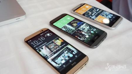 HTC One M8 diseño