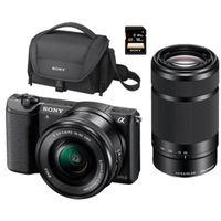 De nuevo en oferta, un completo pack para la sin espejo Sony Alpha 5100L, más barato aún, por 579 euros