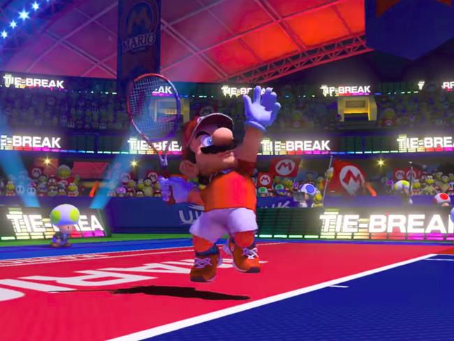 Nuevo 'Mario Tennis' y remake de 'Dark Souls' llegan a Nintendo Switch en 2018