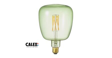 Bombilla LED E27 4W regulable, verde esmeralda