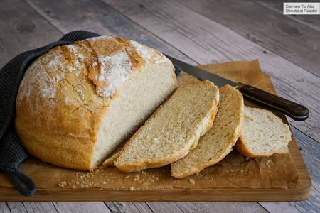 Pan casero con harina común, la receta más fácil y rápida (sin levado) que siempre sale bien