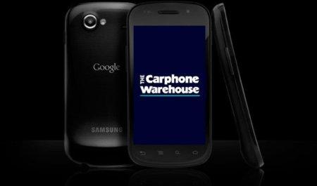 Primeros precios del Nexus S en Reino Unido