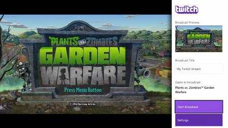 Xbox One ya permite el streaming de juegos mediante Twitch