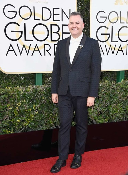 Ross Mathews Golden Globe Awards Red Carpet Arrivals 2017 1