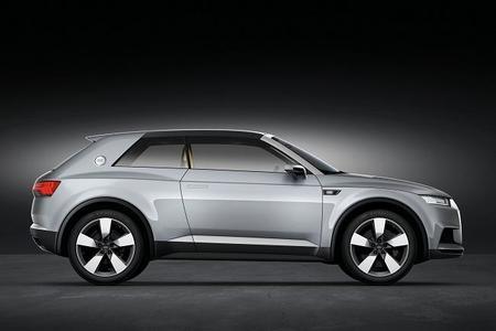 Audi Crossline Coupé - lateral