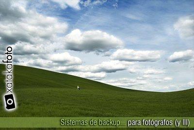 Sistemas de backup para fotógrafos (y III)