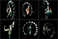 LightSpin: Bailando e iluminando a un ritmo de 360 grados