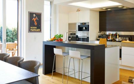 Soluciones para disfrutar de una isla de cocina en - Islas de cocina moviles ...