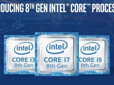 Los primeros Intel Core i7 y Core i5 de 8a generación están aquí: 40% más rendimiento que la generación anterior