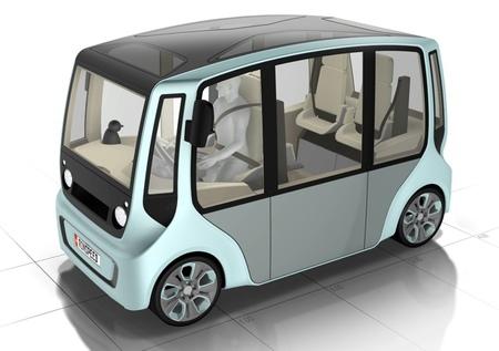 Rinspeed microMAX, investigando nuevos automóviles urbanos