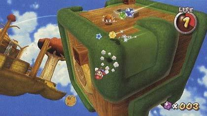 Super Mario Galaxy - Planeta cubico