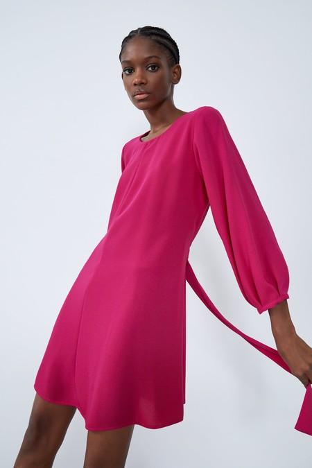 Vestido Fucsia Zara 03