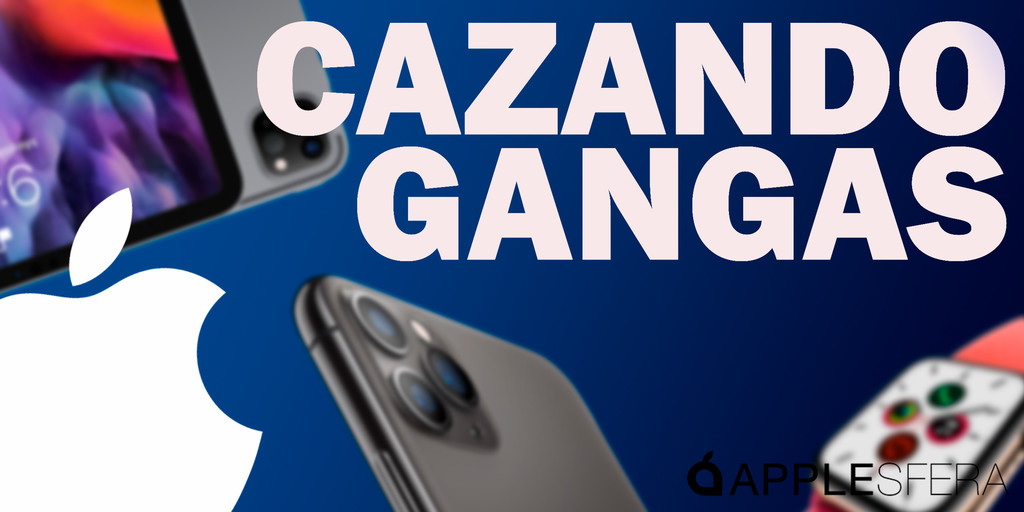 iPhone XR de 128 GB por 549 euros, Apple Watch Series 5 44 mm a 359,99 euros y AirPods Pro por menos de 200 euros: Cazando Gangas