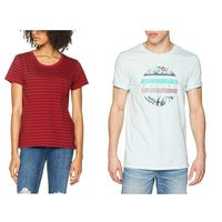 Camisetas Levi's, Lee, Pepe Jeans o Hurley por menos de 10 euros en tallas sueltas de Amazon