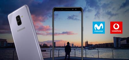El Samsung Galaxy A8 aterriza en Movistar y Vodafone desde 480 euros con pago a plazos