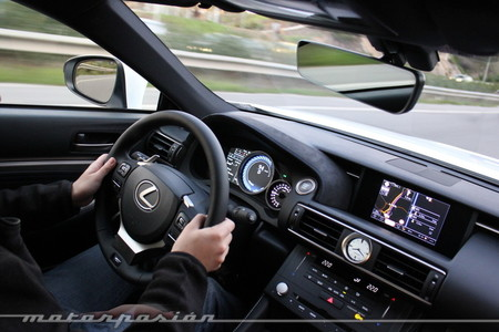 Lexus RC F - prueba - toma de contacto