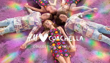 Porque amamos la música, H&M presenta su colección para Coachella 2016