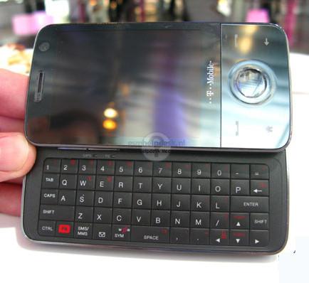HTC Touch Pro, el Diamond con teclado deslizante