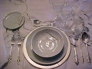 colocación mesa
