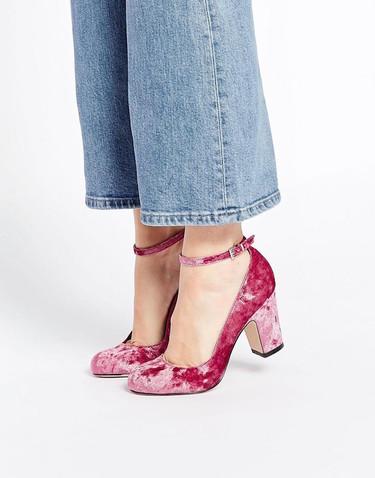 Viste tus pies con el terciopelo más suave