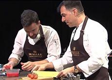 Ya puedes ver aquí y ahora la clase de cocina de Ramón Freixa con mostazas Maille