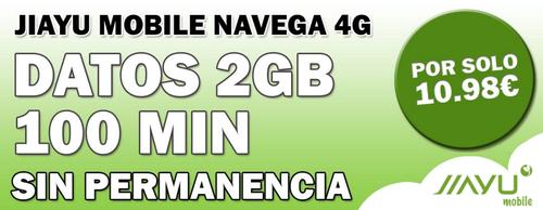 Nace Jiayu Mobile con algunas de las tarifas más baratas, reducción de velocidad y ¿pago a plazos?