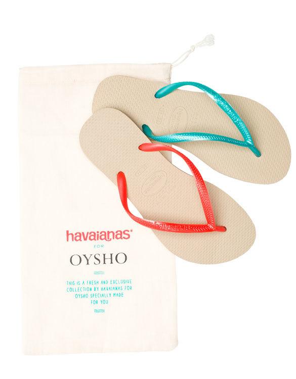 Oysho y Havaianas, un idilio de verano