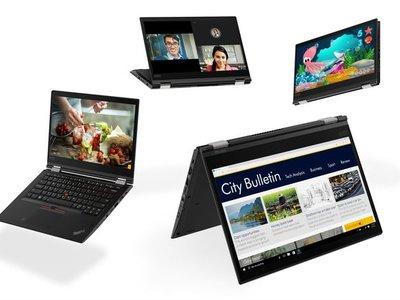 Lenovo renueva su gama de portátiles ThinkPad X, T y L: chips Intel de 8ª generación y USB de tipo C