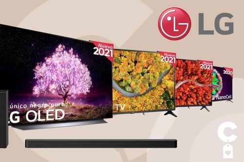 Ofertas en smart TVs y barras de sonido LG en Amazon: equipa tu salón a precio de chollo