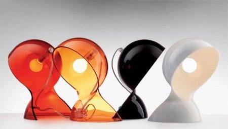 Lámpara Dalú, ahora transparente