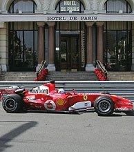"""Schumacher y sus """"problemas"""" en la rascasse"""