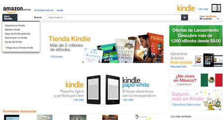 Amazon se lanza de manera oficial en México, inicia con la venta de Kindle y eBooks