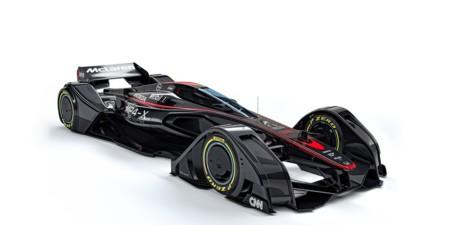 Esto no es un caza de StarWars, es el McLaren MP4-X
