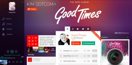 Baboom, el nuevo servicio de streaming de música de Dotcom