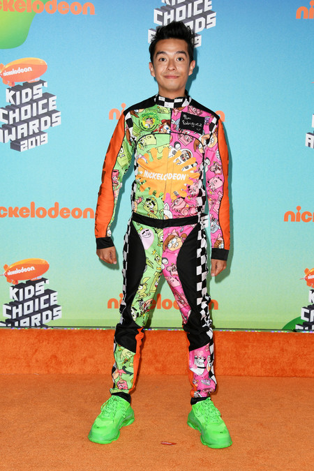 Ami Rodriguez Nickelodeon S 2019 Kids Choice Awards Arrivals Red Carpet